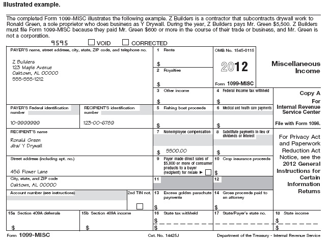 1099 msc example - www.1099Forms.org